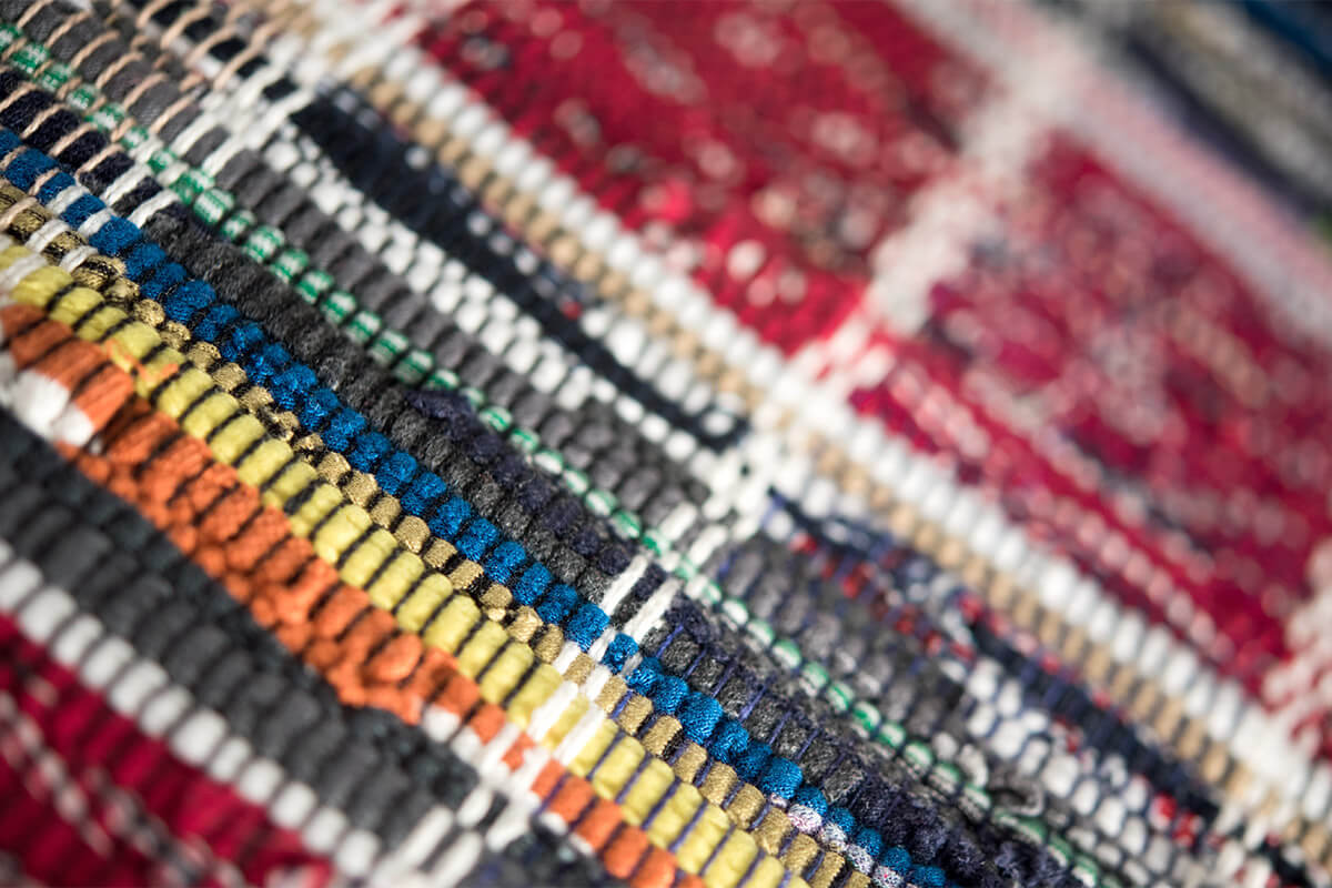 Tappeti In Tessuto Naturale : Tappeto su misura a righe in lino cipro homeplaneur