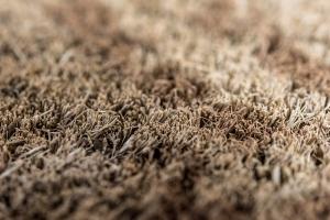 Zerbino in cocco tessuto